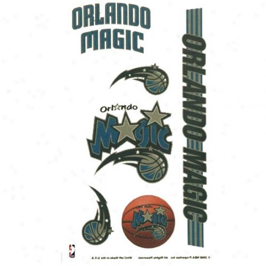 Orlando Witchery 4'' X 7'' Temporary Tattoo Sheet