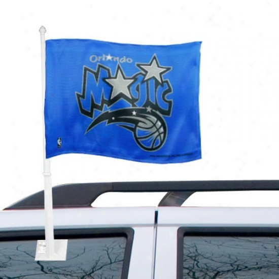 Orlando Magic Banners : Orlando Magic Royal Livid Car Banners