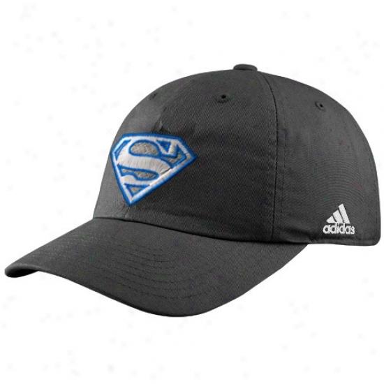 Orlando Magic Gear: Adidas Orlando Magic Black Superman Adjustable Clownish gait Hat