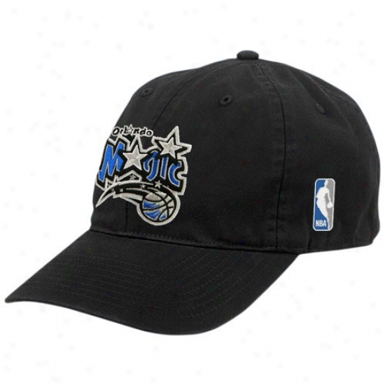 Orlando Witchery Hats : Adidas Orlando Magic Black Classic Adjustable Slouch Hats