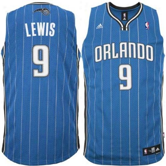 Orlando Magic Jersey : Adidas Orlando Magic #9 Rashard Lewis Royal Blue Swingman Basketball Jersey