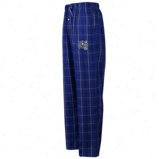 Orlando Magic Royal Dismal Plaid Genuine Pajama Pants
