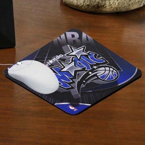 Orlando Magic Team Logo Neoprene Mousepad