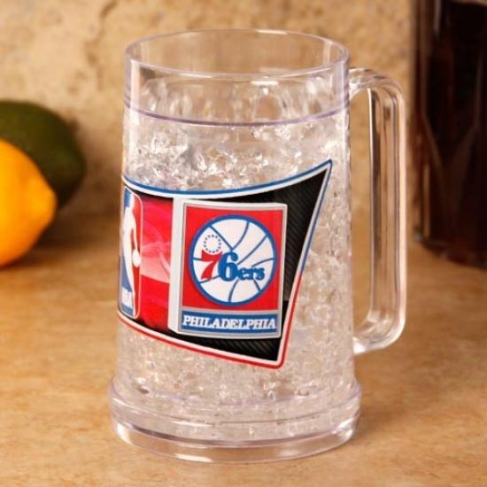 Philadelphia 76ers 16 Oz. Hi Def Freezer Mug