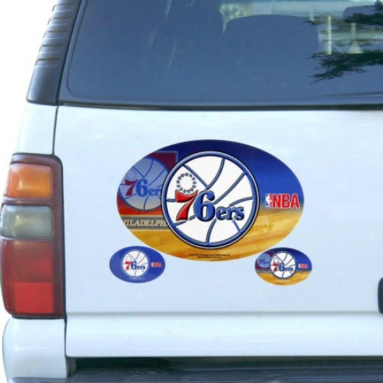 Philadelphia 76ers 3-pack Loadstone Set