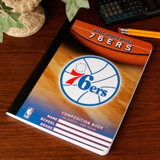 Philadelphia 76ers Composition Notebook