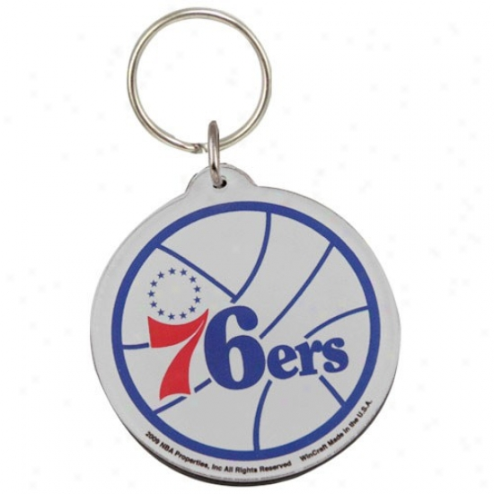 Philadelphia 76ers High Definition Keychain