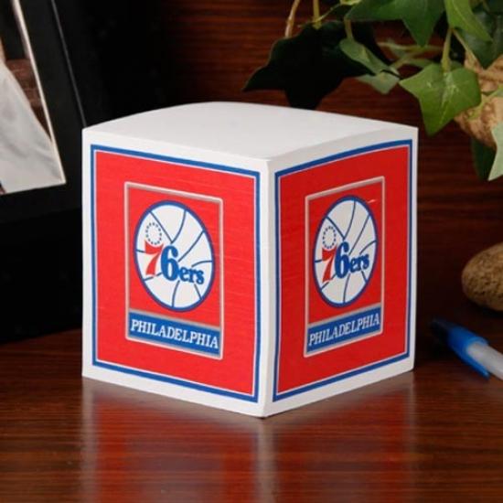 Philadelphia 76ers Note Cube