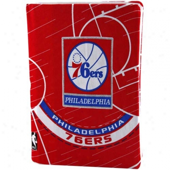 Philadelphia 76ers Red Stretchable Book Coger