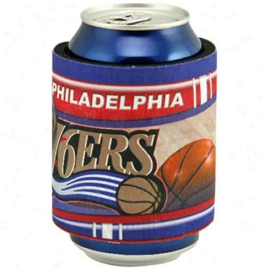 Philadelphia 76ers Slap Wrap Can Coolie