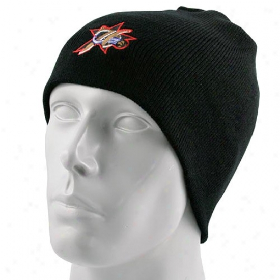 Philly 76er Hat : Adidas Philly 76er Black Knit Beanie Hat