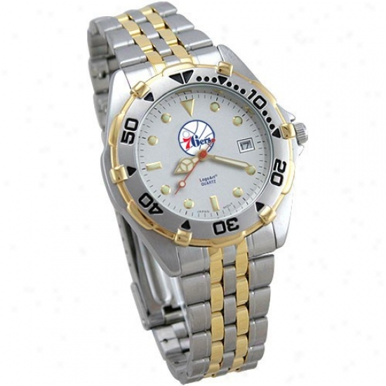 Philly 76er Watch : Philly 76er Men's All-star Stainless Steel Watch