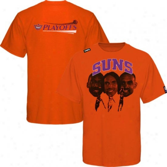 Phoenix Sun Attire: Phoenix Sun Orange 3's Enough T-shirt