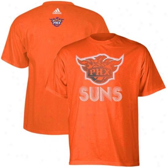 Phoenix Sun T Shirt : Adidss Phoenix Sun Orange Sonic Boom T Shirt