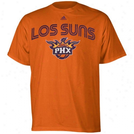 Phoenix Sun Tee : Adidas Phoenix Sun Orange Latin Night Fiesta Tee