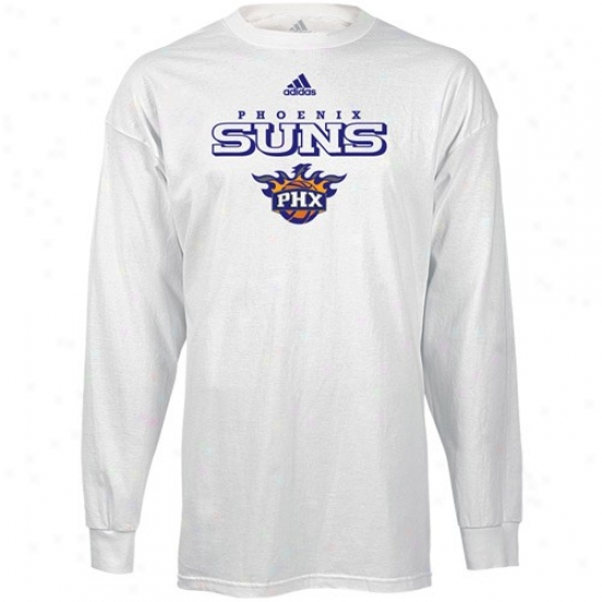 Phoenix Sun Tees : Adidas Phoenix Sunshine White True Long Sleeve Tees