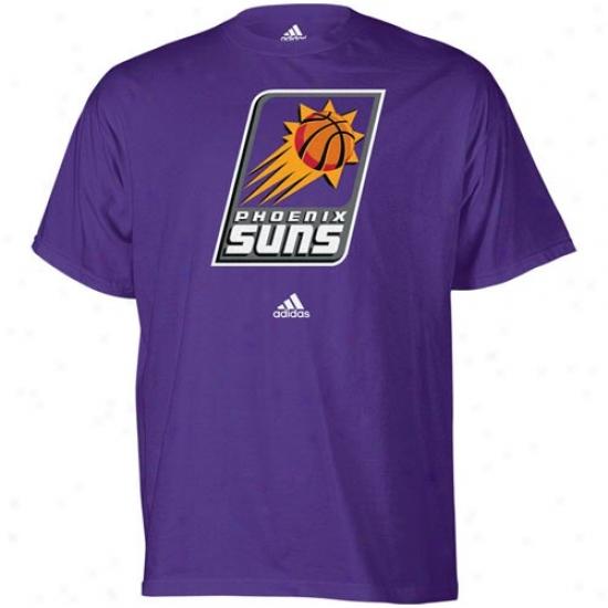 Phoenix Sun Tshirt : Adidas Phoenix Sun Purple Youth Primary Logo Tshirt