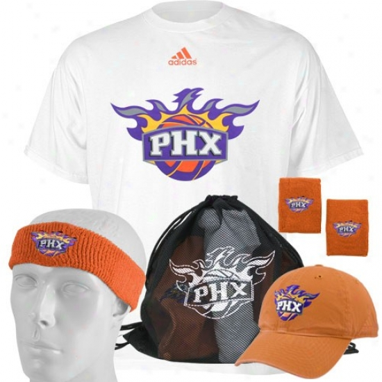 Phoenix Sun Tshirts : Adidas Phoenix Sun Game Day Value Pack