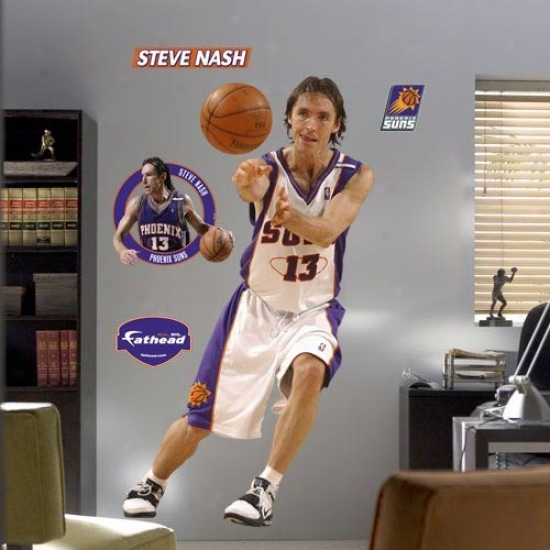 Phoenix Suns #13 Steve Nash Player Fathead