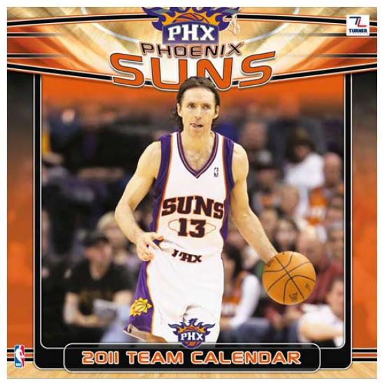 Phoenix Suns 2011 Wall Calendar