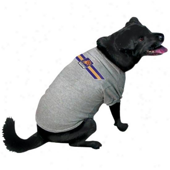 Phoenix Suns Ash Lobo Pet T-shirt