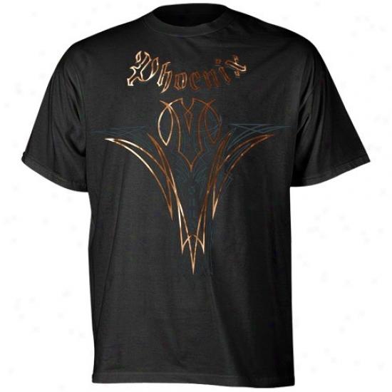 Phoenix Suns Attire: Adidas Phoenix Suns Black Continental T-shirt