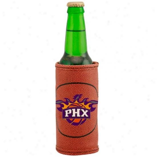 Phoenix Suns Brown Basketball Bottle Coolie