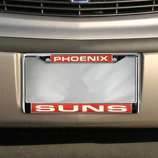 Phoenix Suns Chroms License Plate Frame