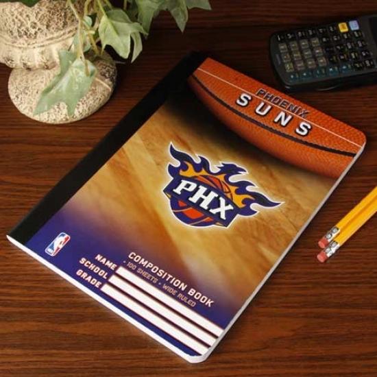 Phoenix Suns Composition Notebook