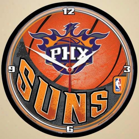 Phoenix Suns Dimension Wall Clock