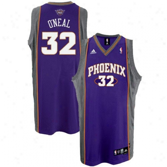 Phoenix Suns Jerseys : Adidas Phoenix Suns #32 Shaquille O'beal Youth Purple Swingman Basketball Jerseys