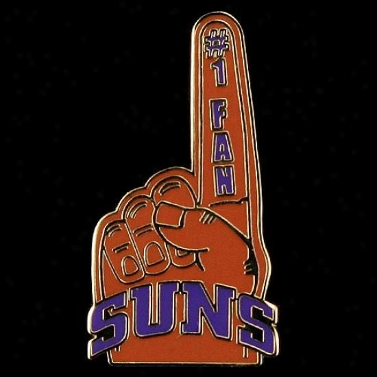 Phoenix Suns Merchandise: Phoenix Suns #1 Fan Straw