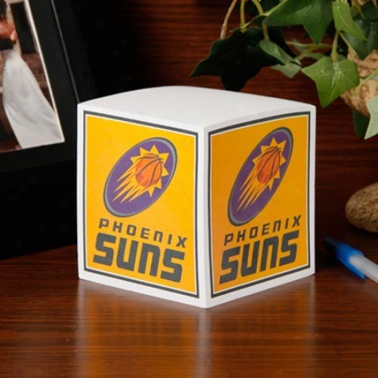 Phoenix Suns Note Cube