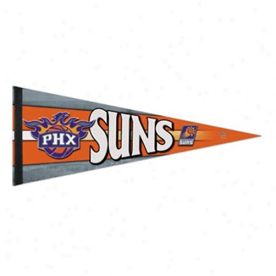 Phoenix Suns Orange 12'' X 30'' Premium Felt Pennant
