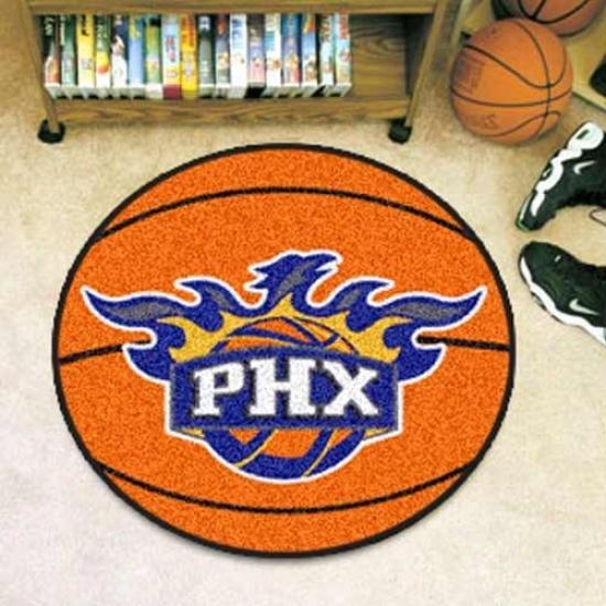 Phoenix Suns Orange Round Basketball Mat