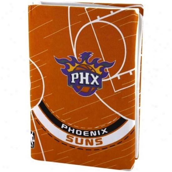 Phoenix Suns Orsnge Stretchable Book Cover