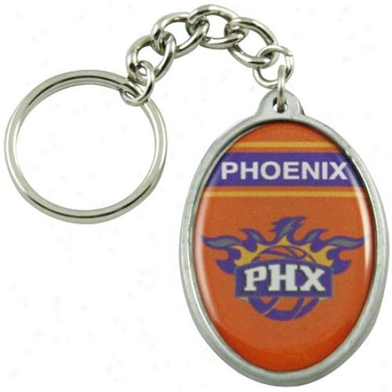 Phoenix Suns Oval Keychain