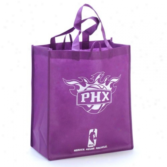 Phoenix Suns Purple Reusable Tote Bag