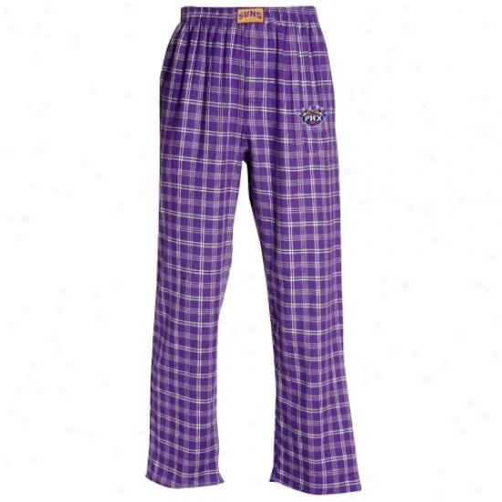 Phoenix Suns Purple Taailgate Pajama Pants