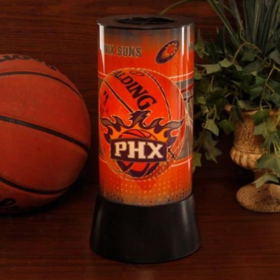 Phoenix Suns Rotating Lamp