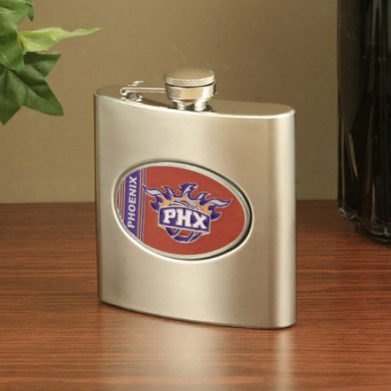 Phoenix Suns Stainless Steel Flask