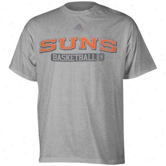 Phoenix Suns Tshirts : Adidas Phoenix Suns Ash Kappa Sigma Tshirts