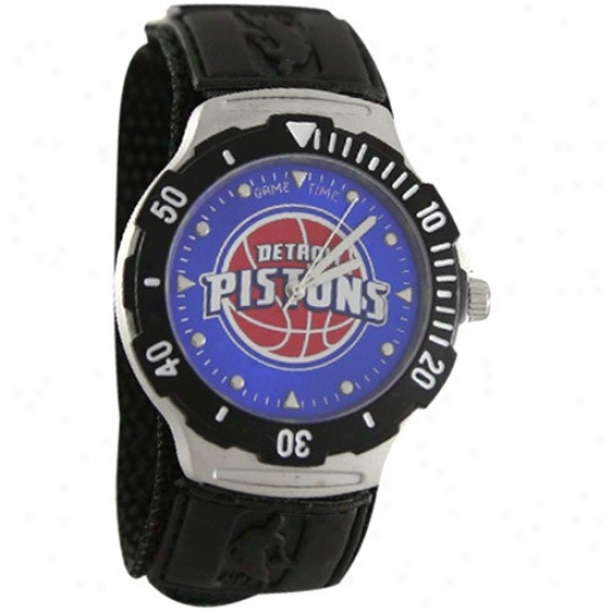 Pistons Watches : Pistons Black Agent V Watches