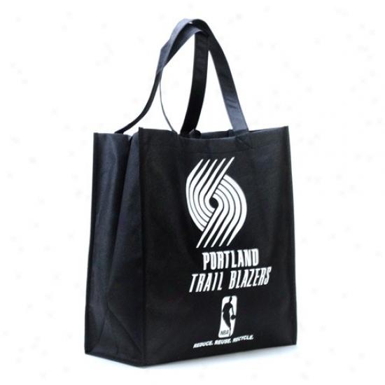 Portland Trail Blazers Blac Reusable Tote Bag