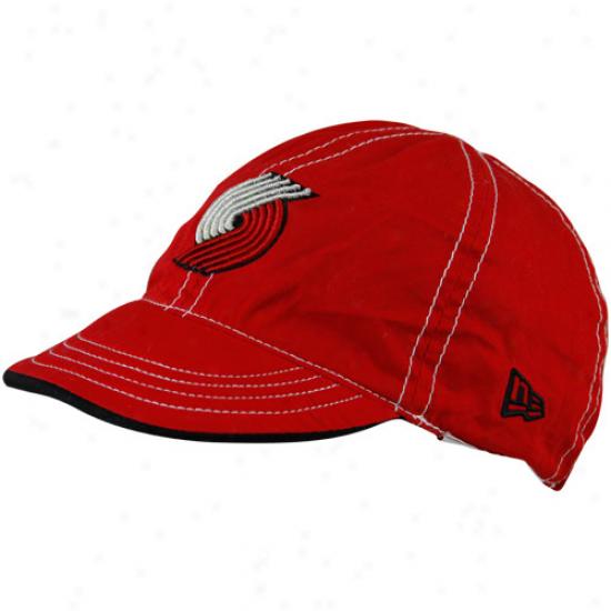 Portland Trail Blazers Hats : New Era Portland Trail Blazers Red-black Mesa Revrsible Hats