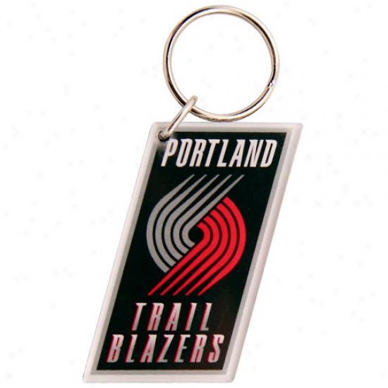 Portland Trail Blazers High Definition Keychain