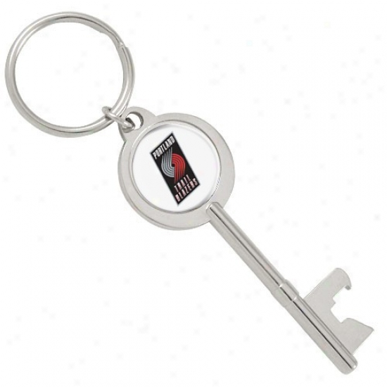 Portland Trail Blazers Key Bottle Opener Keychain