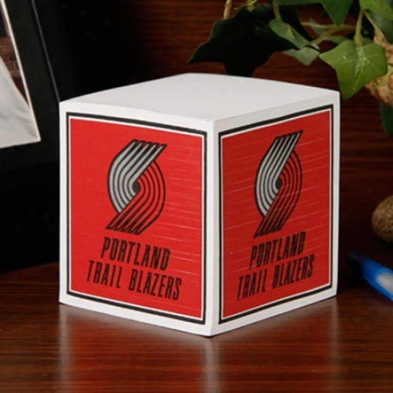Portland Trail Blazers Note Cube