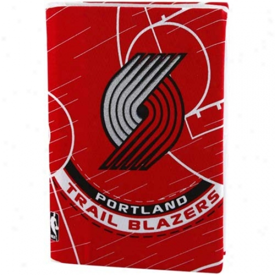 Portland Trail Blazers Red Stretchable Book Cover