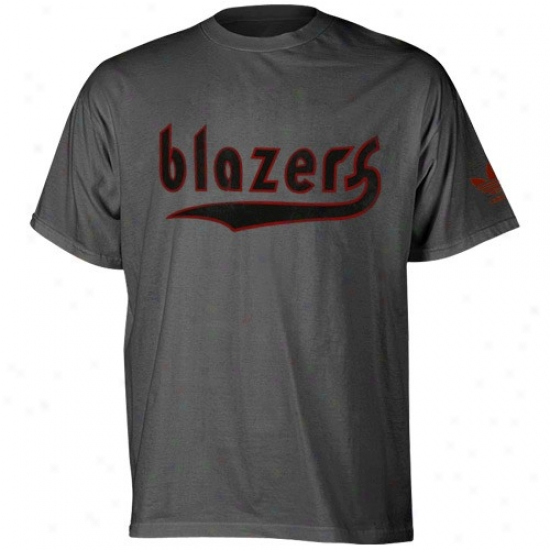 Portland Trail Blazers T Shirt: Philly 76Er Apparel: Adidas Philly 76Er Black Fringed T